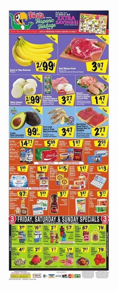 Fiesta Mart Weekly Ad Sep Oct