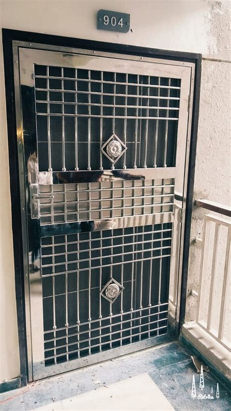 stainless steel door manufacturer  noida ss main gate