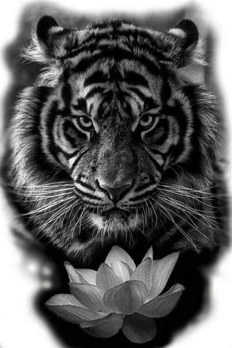 deSymbol — 15 Most Amazing Tiger Tattoos For Women #coupletattoos | Geometric tiger tattoo