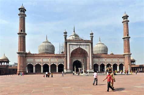 jama masjid   principal mosque   delhi  india