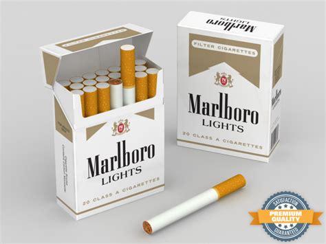 carton of marlboro lights 3d model marlboro lights cigarette box