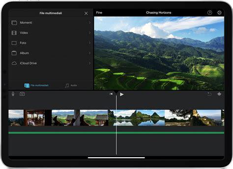 Aggiungere foto e video a un progetto iMovie - Supporto Apple