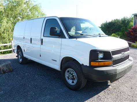automobile air conditioning repair 2009 chevrolet express 3500 security system sell used 2005 chevy base express 3500 1 ton 2 wheel drive work van in corfu new york united