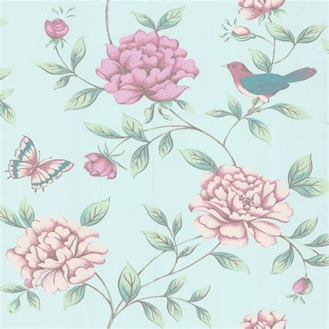 duck egg pink  isabelle birds butterflies