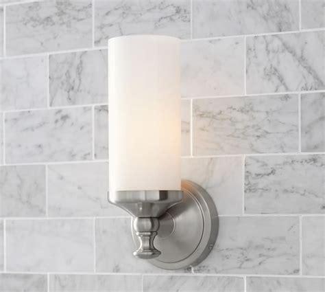 mercer single tube sconce bathroom renovation bathroom