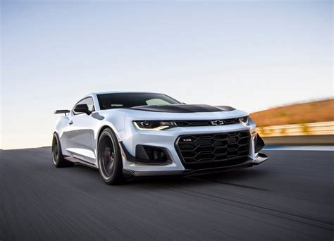 2018 Chevy Camaro Zl1 1le Front Images For Desktop