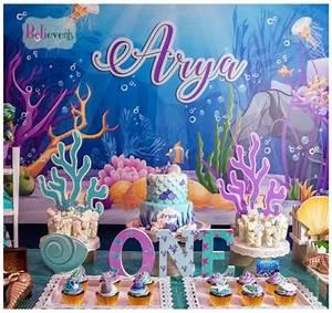 Under The Sea Birthday Party Invitations Free Printable Bubbling Under The Sea Birthday Birthday Party Ideas