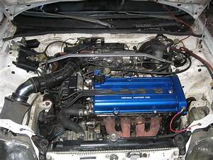 89 Civic Si  B18a1 Swap Vacuum Line For Smooth Idle