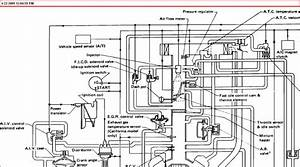 1989 Nissan Truck  V6 Automatic Transmission  I Need A Vacuum Line Diagram  Recently Replaced