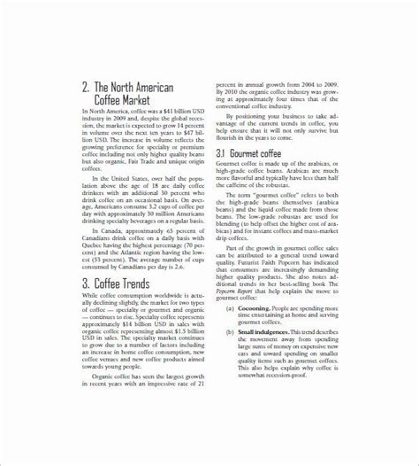 Free corporate company presentation template. 40 Coffee Shop Business Plan Template in 2020 | Coffee shop business plan, Business plan ...