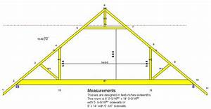 attic truss building diagrams pinterest With 16 ft trusses