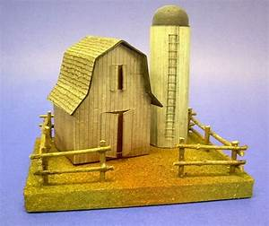building a vintage style cardboard barn and silo With build bigger barns