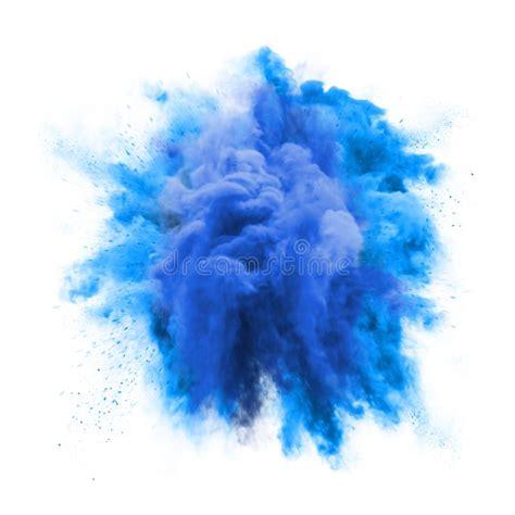paint powder green color explosion particle dust cloud