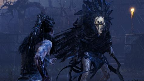 hellblade slaying  boss valravn ign video