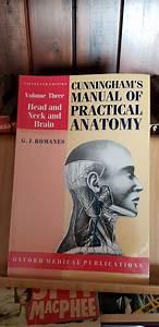 Cunningham U0026 39 S Manual Of Practical Anatomy  Volume 3 Head