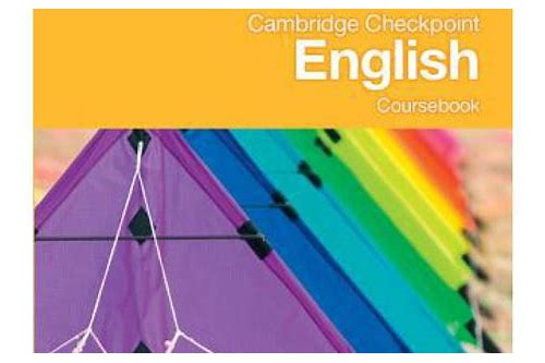 cambridge checkpoint english coursebook 8 free download