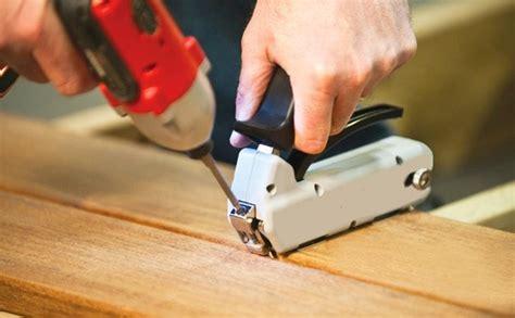 Nailing Deck Boards