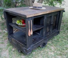 distressed kitchen islands wes dalgo furniture distressed black modern rustic kitchen island cart with walnut stained