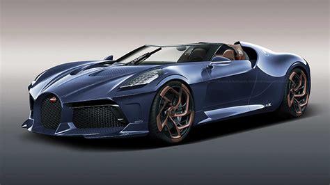 Bugatti La Voiture Noire Roadster Rendering Is Simply Fabulous
