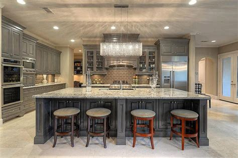 luxury kitchen islands 50 gorgeous kitchen designs with islands designing idea 3918