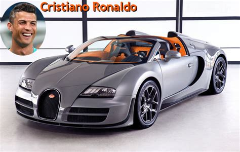 Bugatti chiron was added in the cristiano ronaldo car collection in 2017 when he made his 400th appearance for real madrid. 9 Cristiano Ronaldo bugatti-veyron - Nil Mirum _ Buzz - Actualité - People