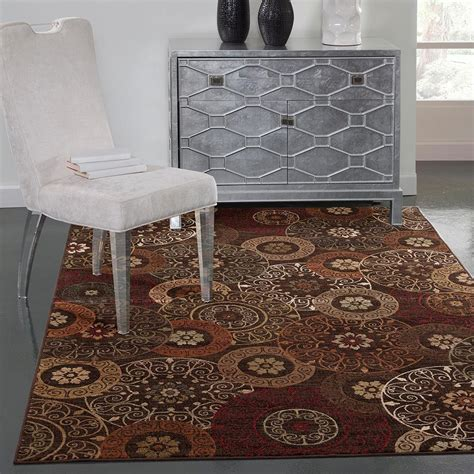 sams area rugs sams international sonoma lundy rust 5 ft 3 in x 7 ft 6