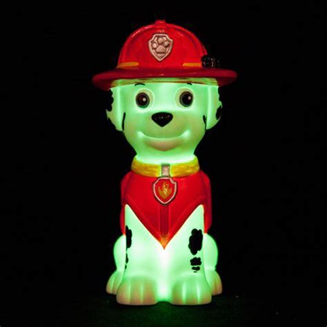paw patrol illumi mates colour changing led lights chase