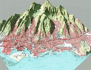 Topographic Map pieces