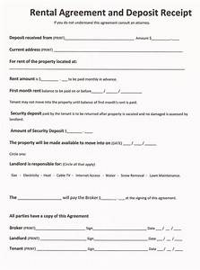 free rental forms to print free and printable rental With renters contract template free