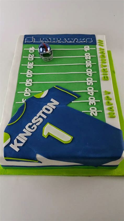 Cake Decorating Classes Seattle by Cakes By Hotkist Seattle Seahawks Football Field Birthday