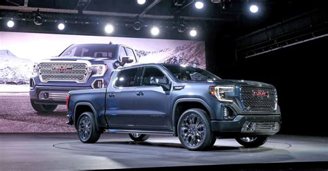 Gm Unveils 2019 Gmc Sierra Denali, Slt Pickup Trucks