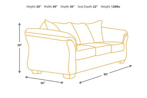 Dimensions Of Loveseat by Bladen Sofa Furniture Homestore