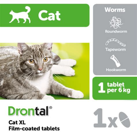 drontal cat xl worming tablets   waitrose pet