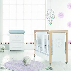 chambre bb lit et commode mandala de micuna chambre bb With chambre bébé design avec bouquet naissance