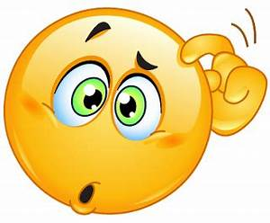 Confused Face Emoticon - Cliparts.co