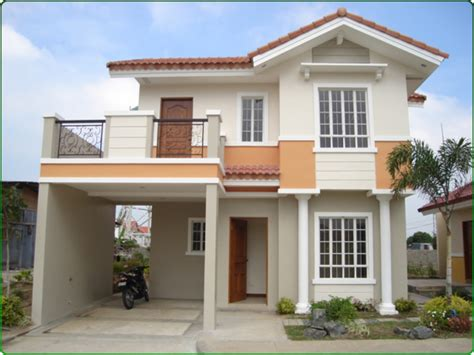 Two Storey House Plans With Balcony