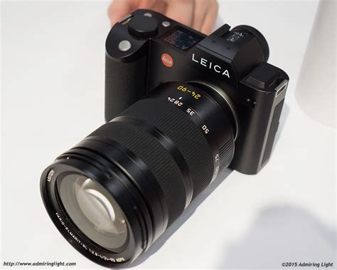 Hands On: Leica Booth: Leica SL and Leica Q Admiring Light