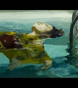 photo la peinture a l39huile de markus akesson une femme With peinture al eau sur bois