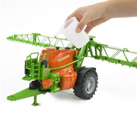 bruder farm bruder 02207 amazone trailed crop sprayer farm toys online