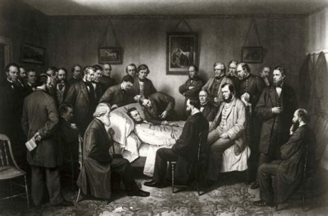 Abraham Lincoln Death Bed