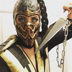 Mortal Kombat Scorpion female cosplay by @jessmoshook ...