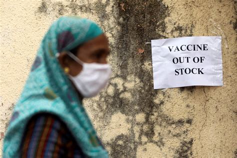 inkl - Indian states report vaccine shortages amid record ...