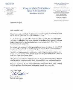 how to write a letter to a congressman example a With kidney transplant fundraising letter