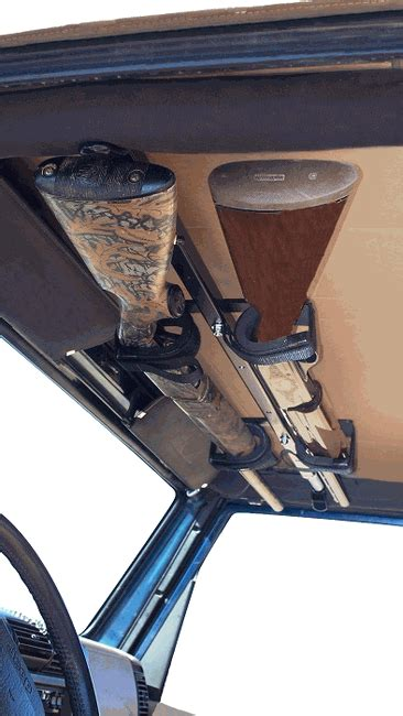 jeep gun rack all things jeep draw overhead gun rack from great