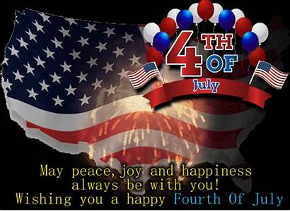 July Inspirational 4th Greetings Fourth Wishes Ecards