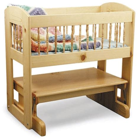 glider cradle woodworking plan