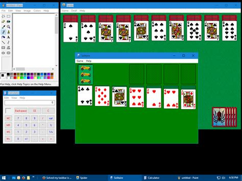 Solitaire From Windows Xp Runs Fine On Windows 10