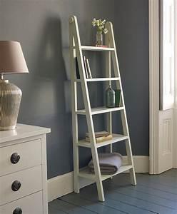 Unique, Ladder, Shelving, Unit, U2013, Homesfeed