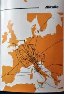 Alitalia Airlines Route Map