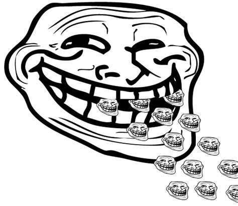 Troll Face Know Your Meme - image 156054 trollface coolface problem know your meme